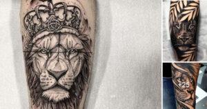 Imágenes de Creativos Tatuajes de Leones y su Significado