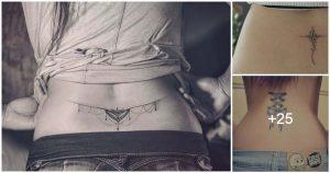 Tatuajes en la Espalda baja para Mujeres