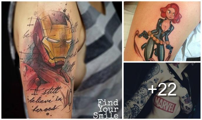 Tatuajes de Marvel y sus Super Héroes