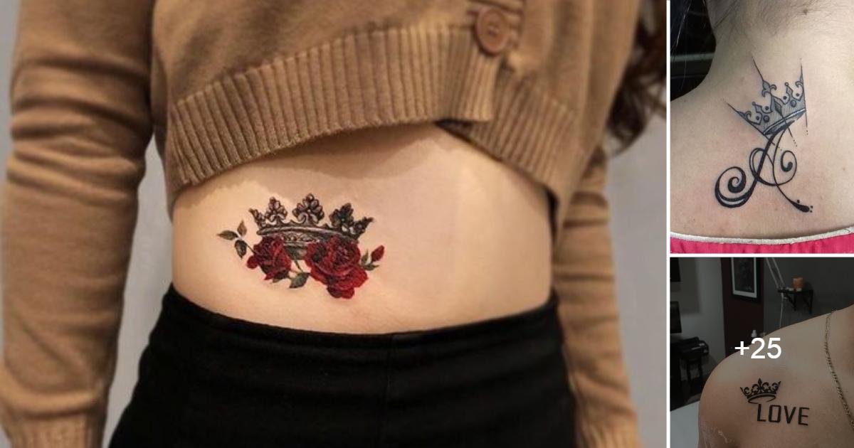 Ideas de Tatuajes de Coronas