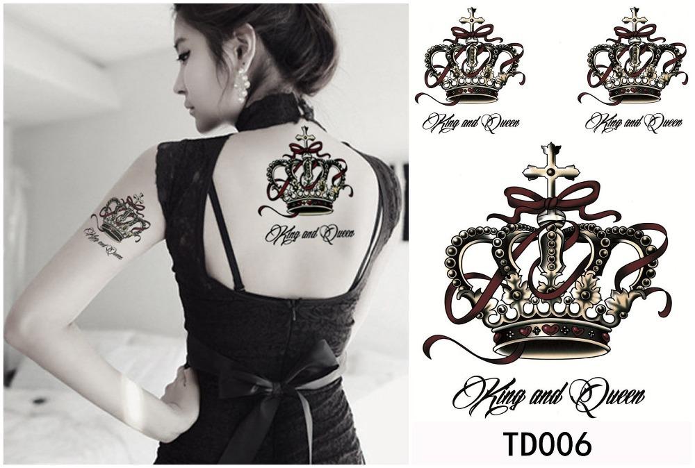 tatuaje de corona para mujer Tatuajes de Coronas