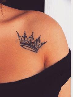 tatuaje en forma de corona Tatuajes de Coronas
