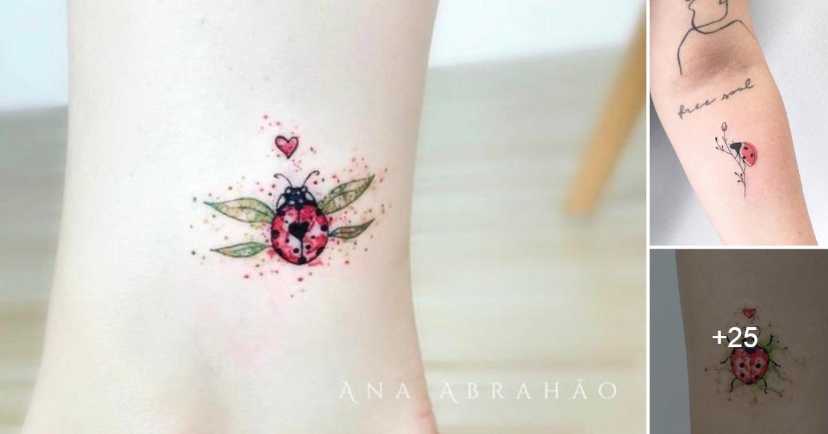 Ideas de Tatuajes de Mariquitas