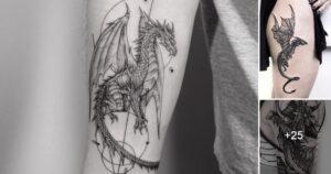 Ideas de Tatuajes de Dragones