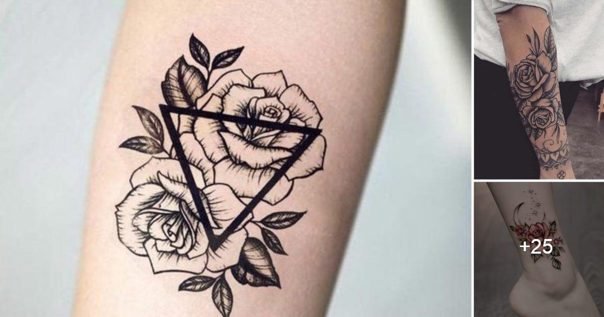 Ideas de Tatuajes de Flores & Objetos