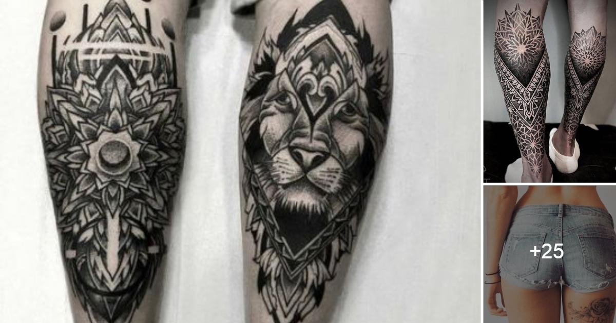 Ideas de Tatuajes en la Piernas