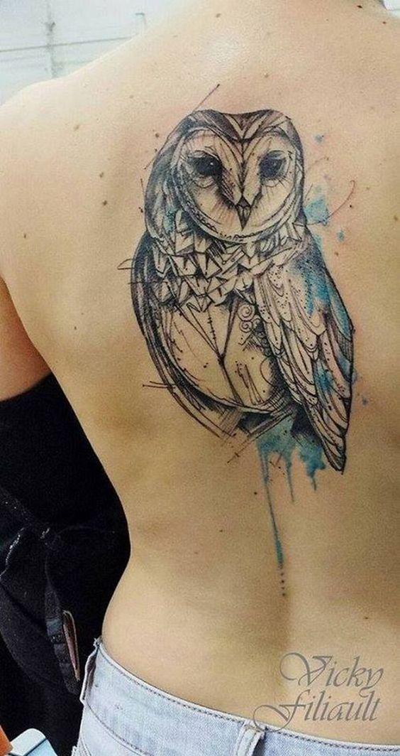 img 5a2fd86a673b3 Tattoos con Búhos