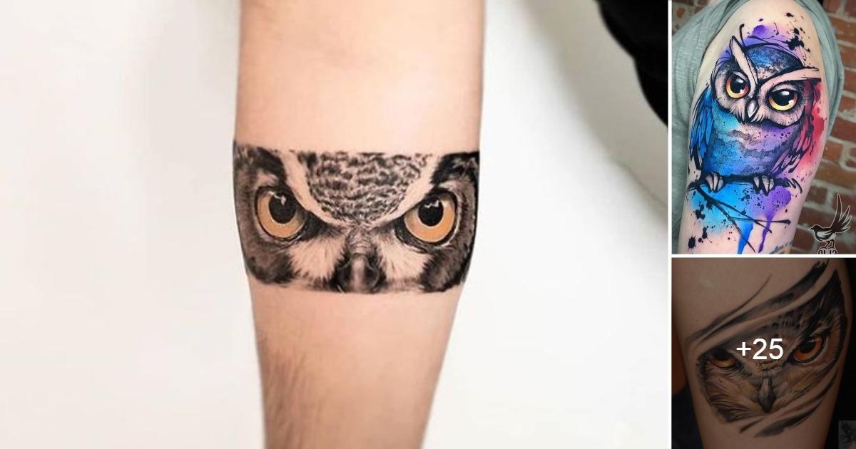ideas de Tatuajes con Búhos