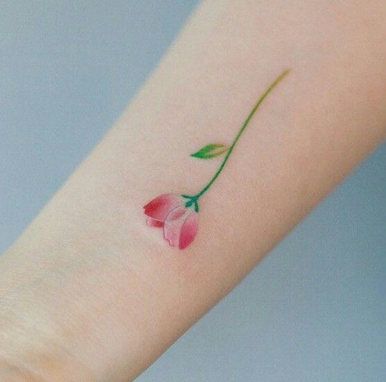 Tatuajes con Flores 1 Rosas Pequeñas