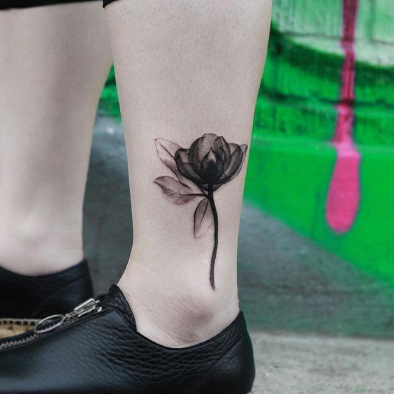 Tatuajes con Flores 9 Rosas Pequeñas