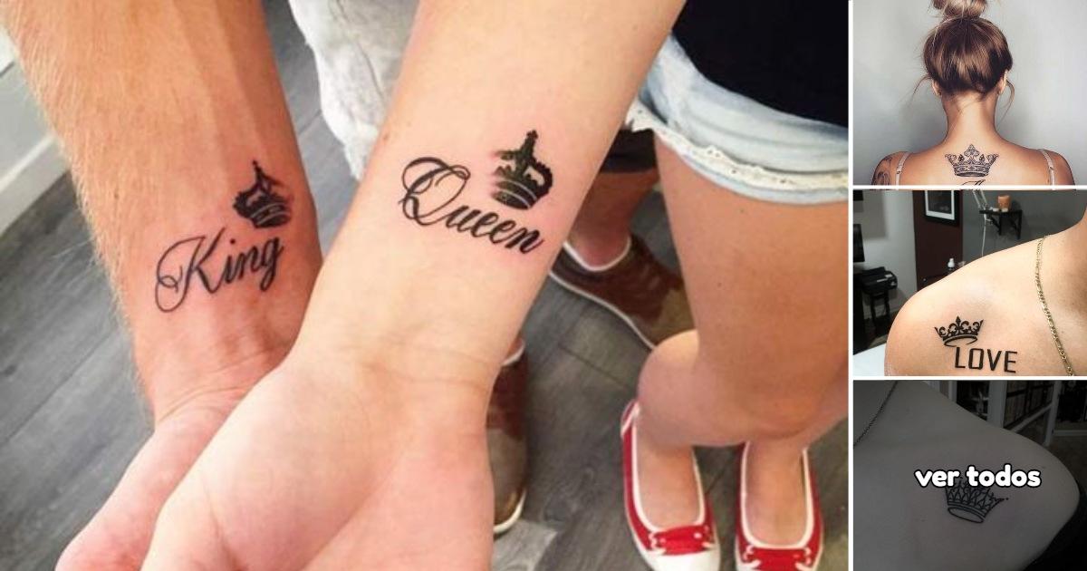 Ideas de Tatuajes con Coronas