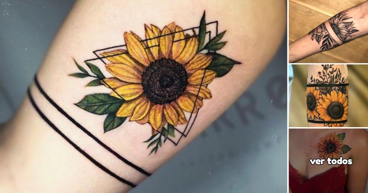 Ideas de Tatuajes con Girasoles