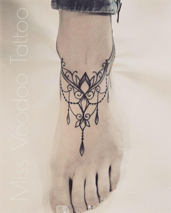 img 5a86347eaf65a Tatuajes de Pulsera en el Tobillo