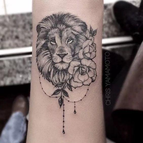 Tatuajes De Leones Para Mujeres En El Brazo Tatuajes