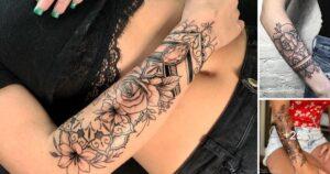 35 Ideas Geniales de Tatuajes de Flores en el Antebrazo