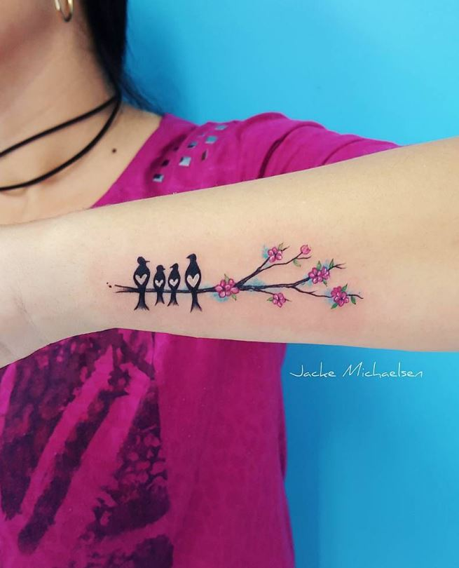 50 Best Tattoos from Amazing Tattoo Artist Jacke Michaelsen 25 Los diseños mas hermosos para Mujeres