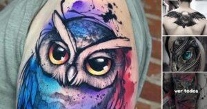 25 Ideas de Tatuajes de Pequeños Búhos