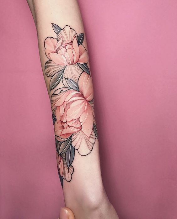 img 5a9b52ba2c0d9 Peony Tattoo   Nora Ink