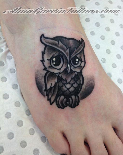 Pequeños Buhos Tattoo Arte