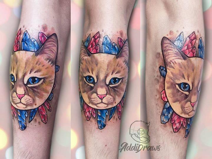 img 5aa41e3bbe94a 20 Tatuajes de Felinos