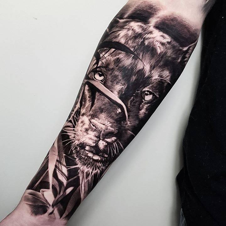 img 5aa41e7e0cd4a 20 Tatuajes de Felinos