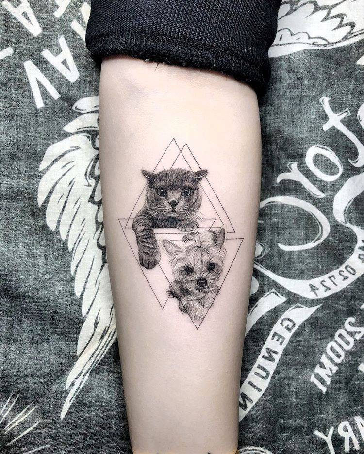 img 5aa41e9f9b04f 20 Tatuajes de Felinos