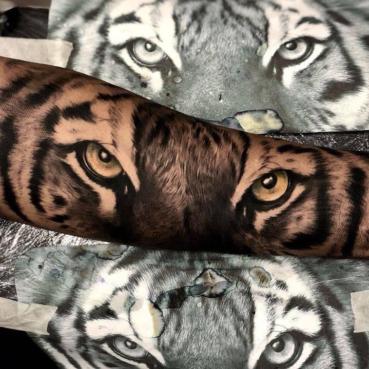 img 5aa41fe434df8 20 Tatuajes de Felinos
