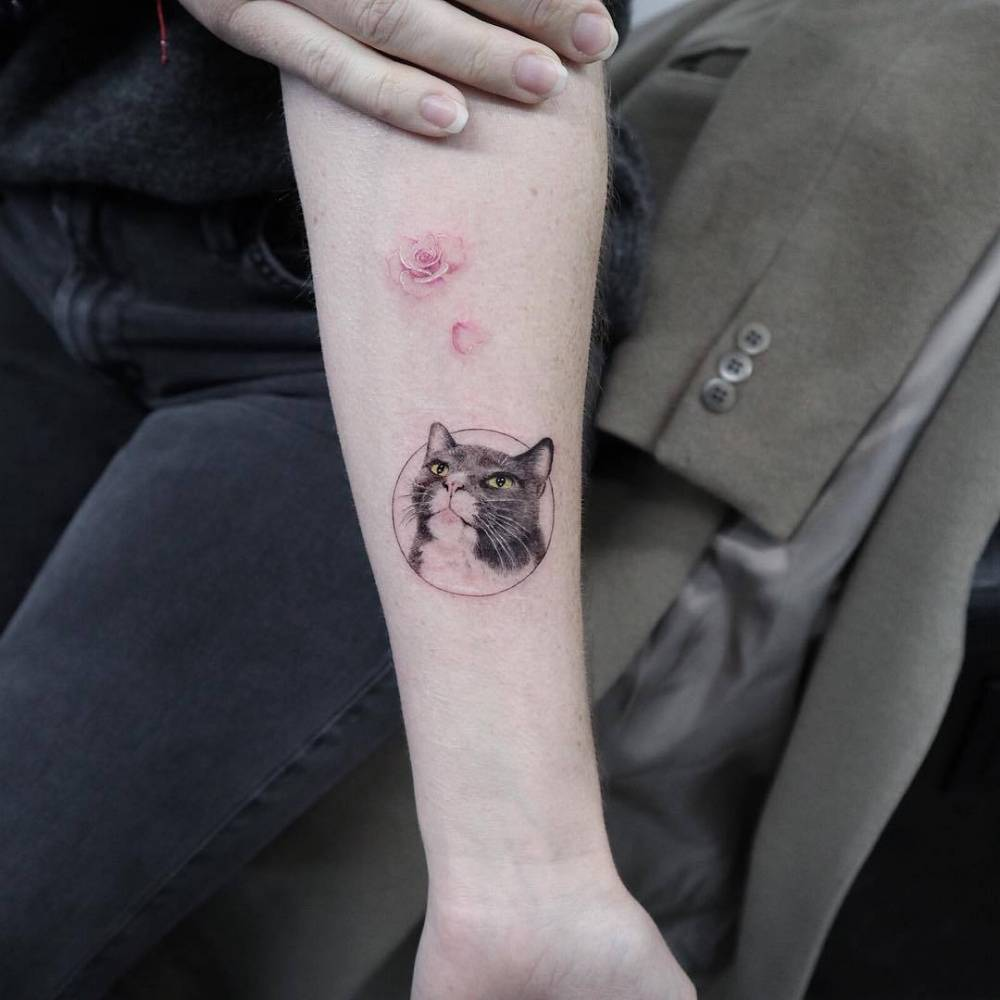 img 5aa4201538b24 20 Tatuajes de Felinos