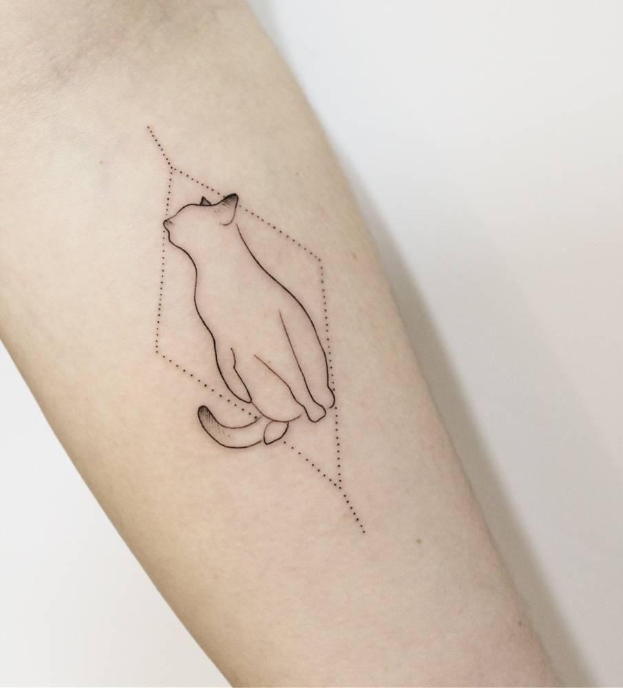 img 5aa420d2680c9 20 Tatuajes de Felinos