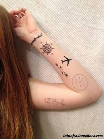 img 5aa4a4dc010b5 Tatuajes Inspirados en Viajes o Destinos