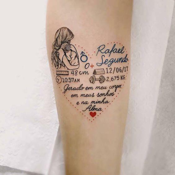 img 5aa9d74908e78 Tatuajes Inspirados en la Maternidad