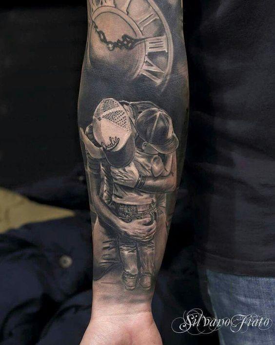 img 5aaac52508b88 Tatuajes Inspirados en la Paternidad