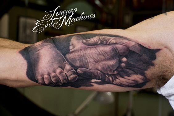 img 5aaac559a9be6 Tatuajes Inspirados en la Paternidad