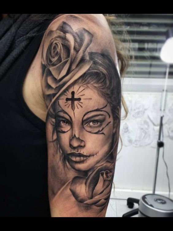 img 5aac6bff6e822 Tatuajes de Catrinas