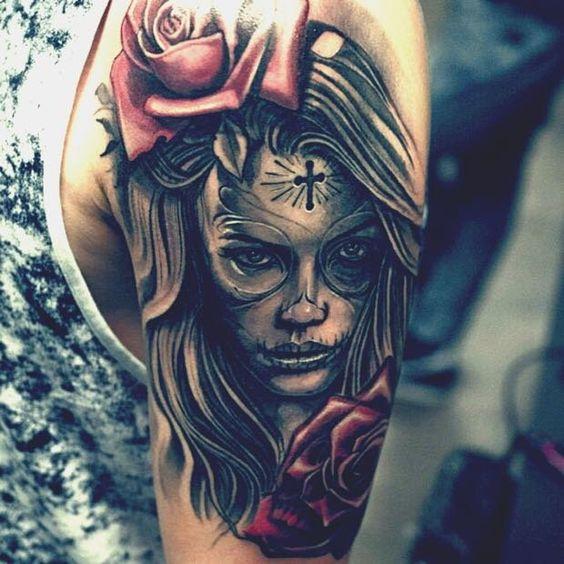 img 5aac6c9b86669 Tatuajes de Catrinas