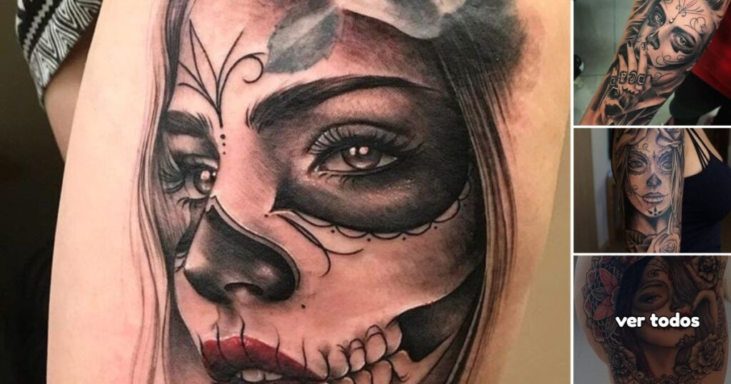 Ideas de Tatuajes de Catrinas