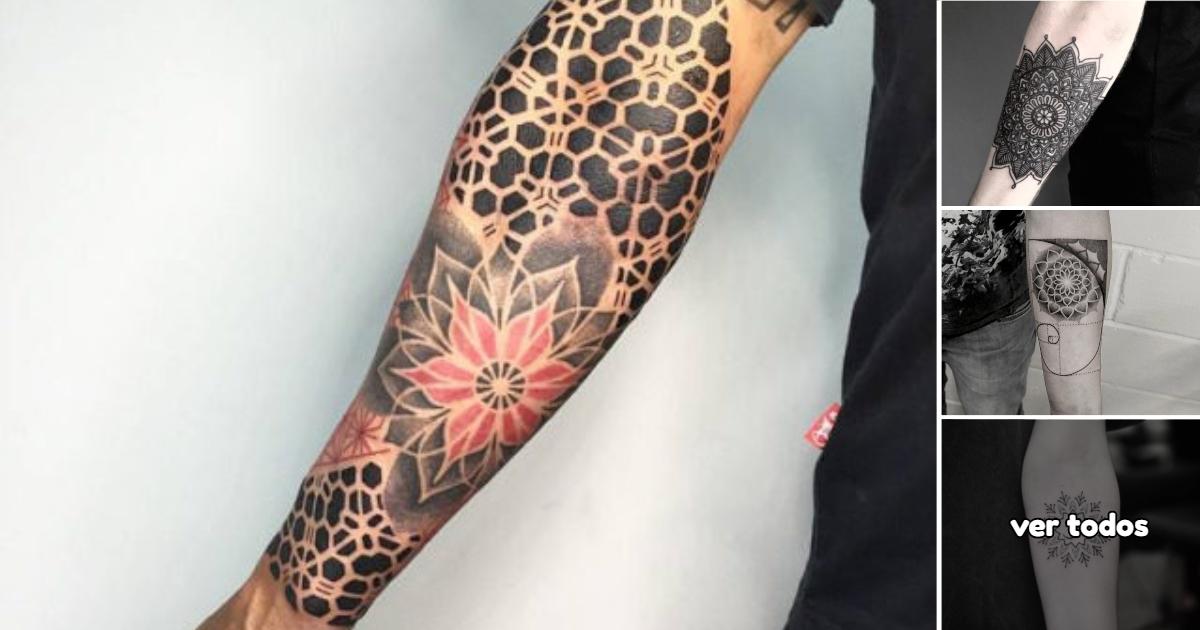 Ideas de Tatuajes de Mandalas en los Brazos