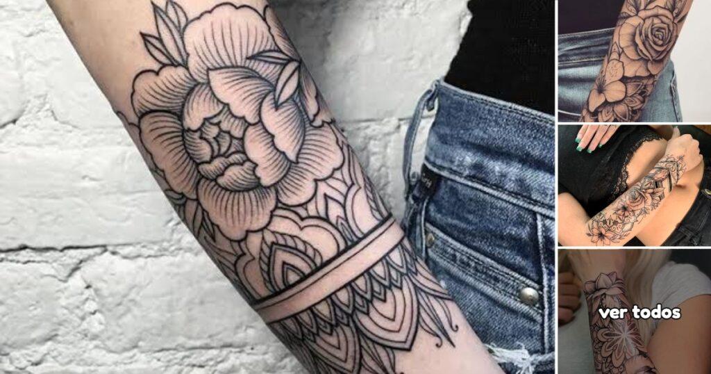30 Ideas de Tatuajes de Flores en el Antebrazo