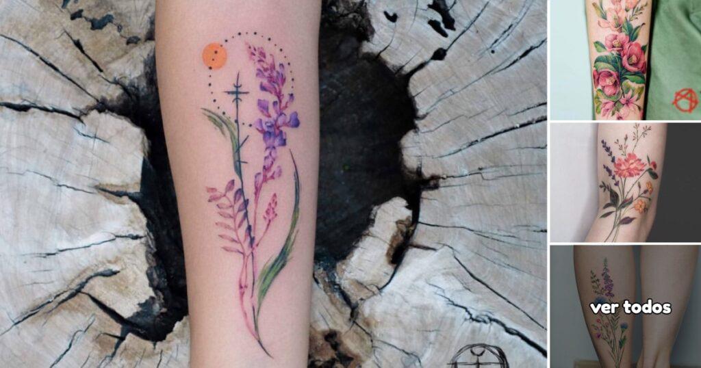 Ideas de Tatuajes con Flores Silvestres
