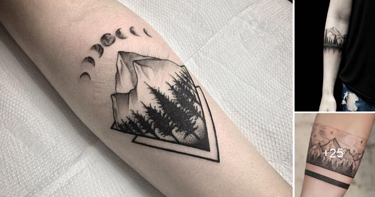 Creativos e Inspiradores Tatuajes de pequeños bosques