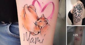 Creativos y Coloridos Tatuajes de Michele Mercuri