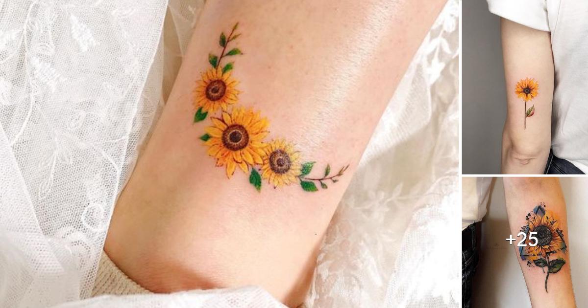 Los Mejores Diseños de Tatuajes de Girasoles para Inspirarte