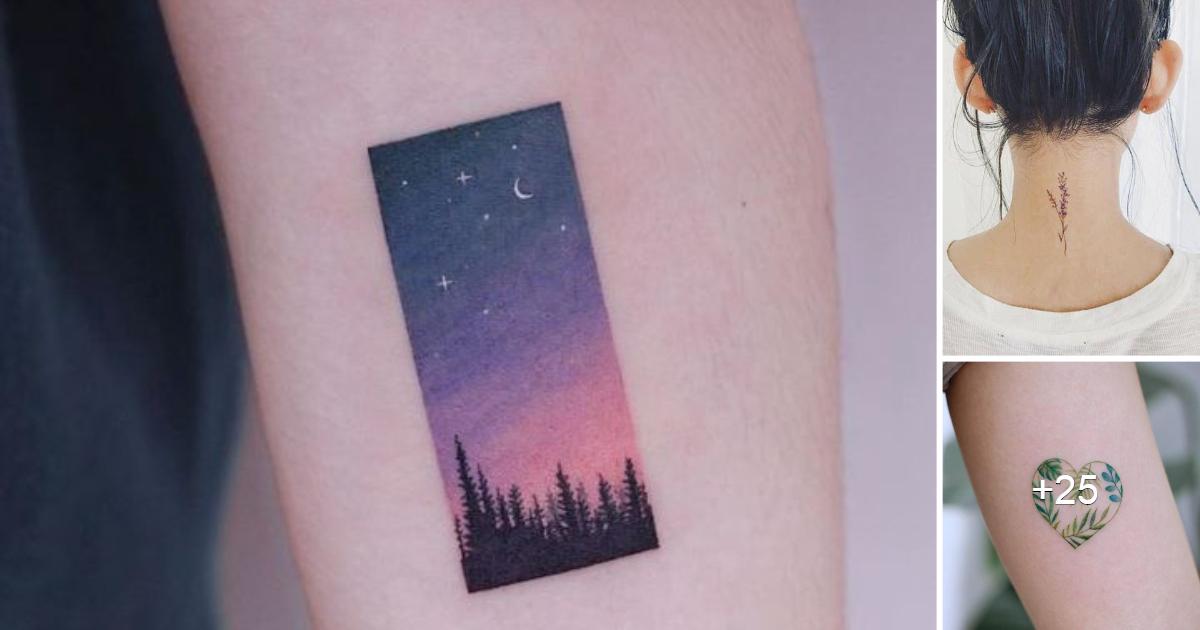 30 maravillosas ideas de tatuajes pequeños que te encantarán