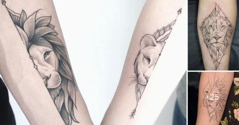 Más de 15 Tatuajes de leones que son simplemente geniales