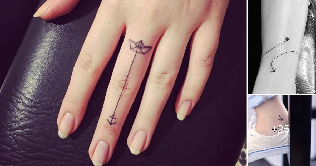 Mas de 25 Diseños Increibles de Tatuajes de Anclas