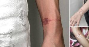 Diminutos Tatuajes con Detalles Perfectos hechos por «ANYA BARSUKOVA»