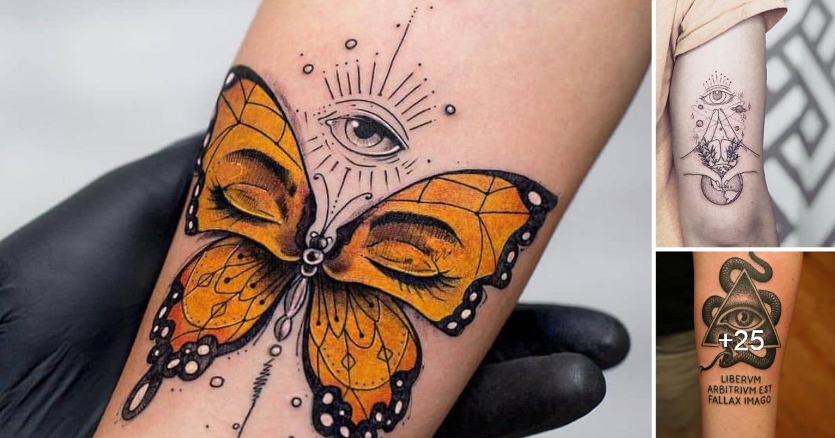 Los 15 mejores tatuajes del tercer ojo