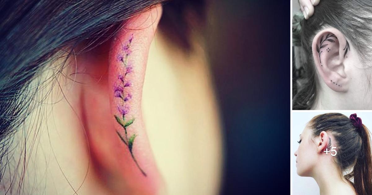 Los 7 tatuajes de orejas más bonitos