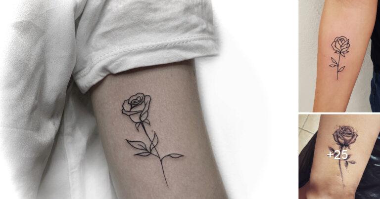 Las 21 mejores ideas de Tatuajes de simples Rosas
