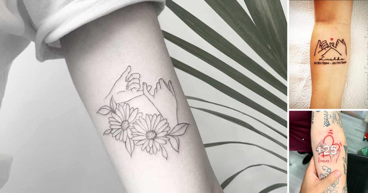 Las 25 mejores ideas de tatuajes de Pinky Promise